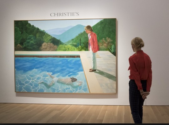 The record smashing Hockney Auction