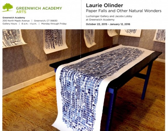 Laurie Olinder: Paper Falls and Other Natural Wonders